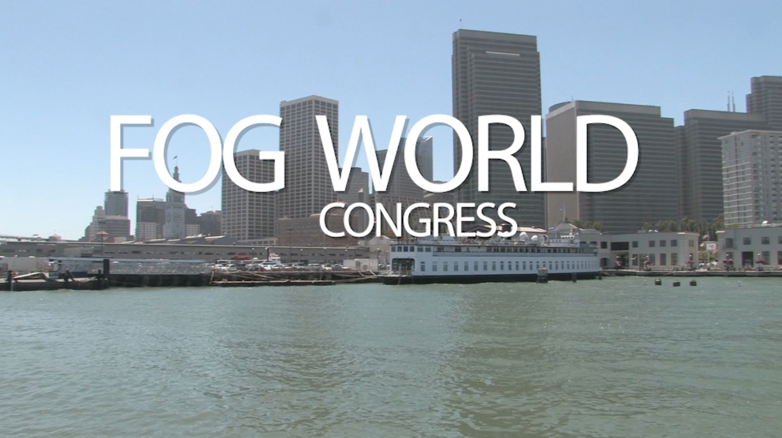 Fog World Congress 2018 - Save the Date!