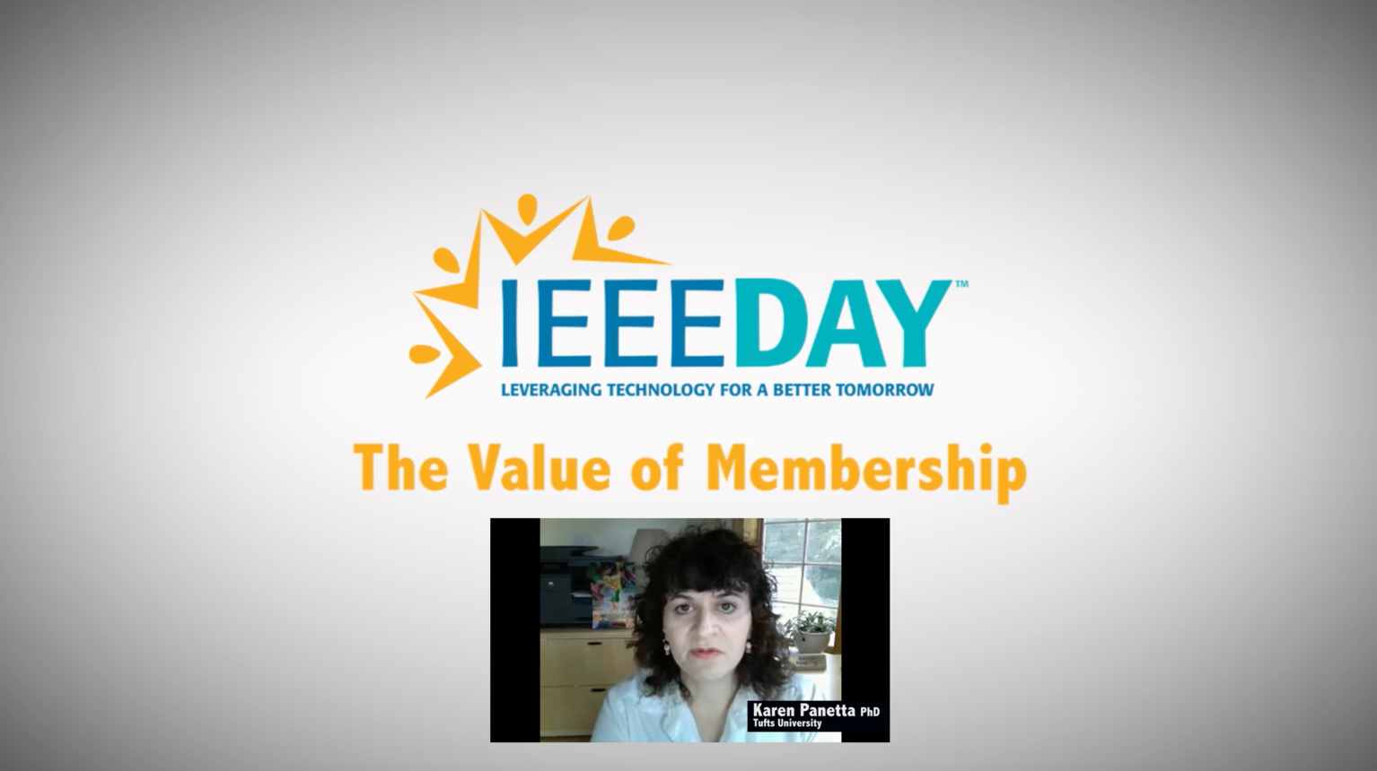 Karen Panetta - IEEE Value of Membership Testimonial