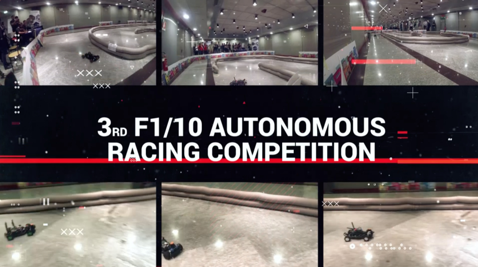 3rd F1/10 Autonomous Racing Competition 2018 - Torino, Italy