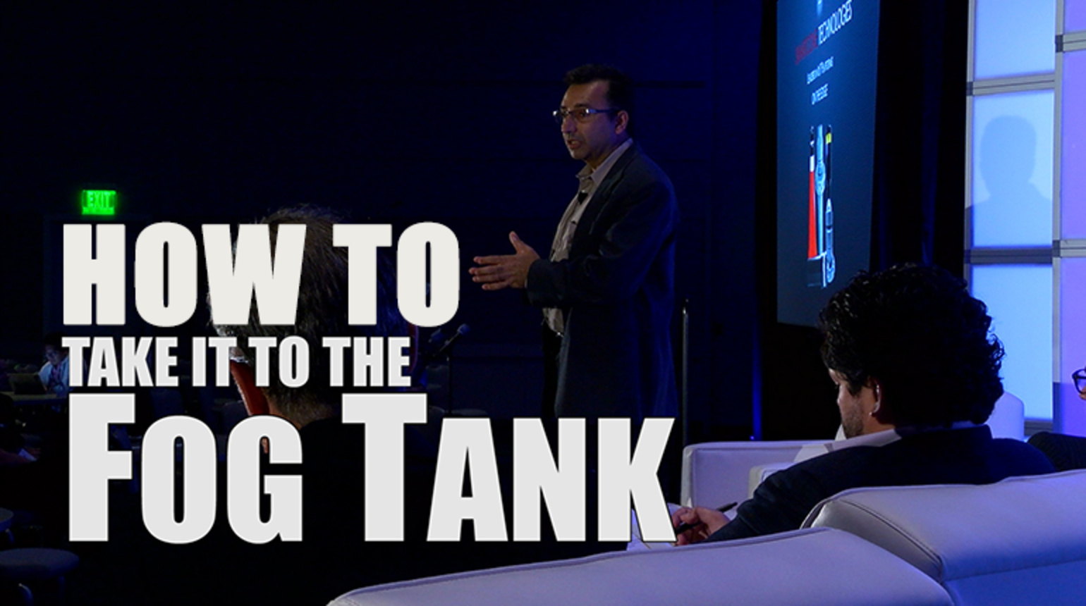 Take It To the Fog Tank: Fog World Congress 2018