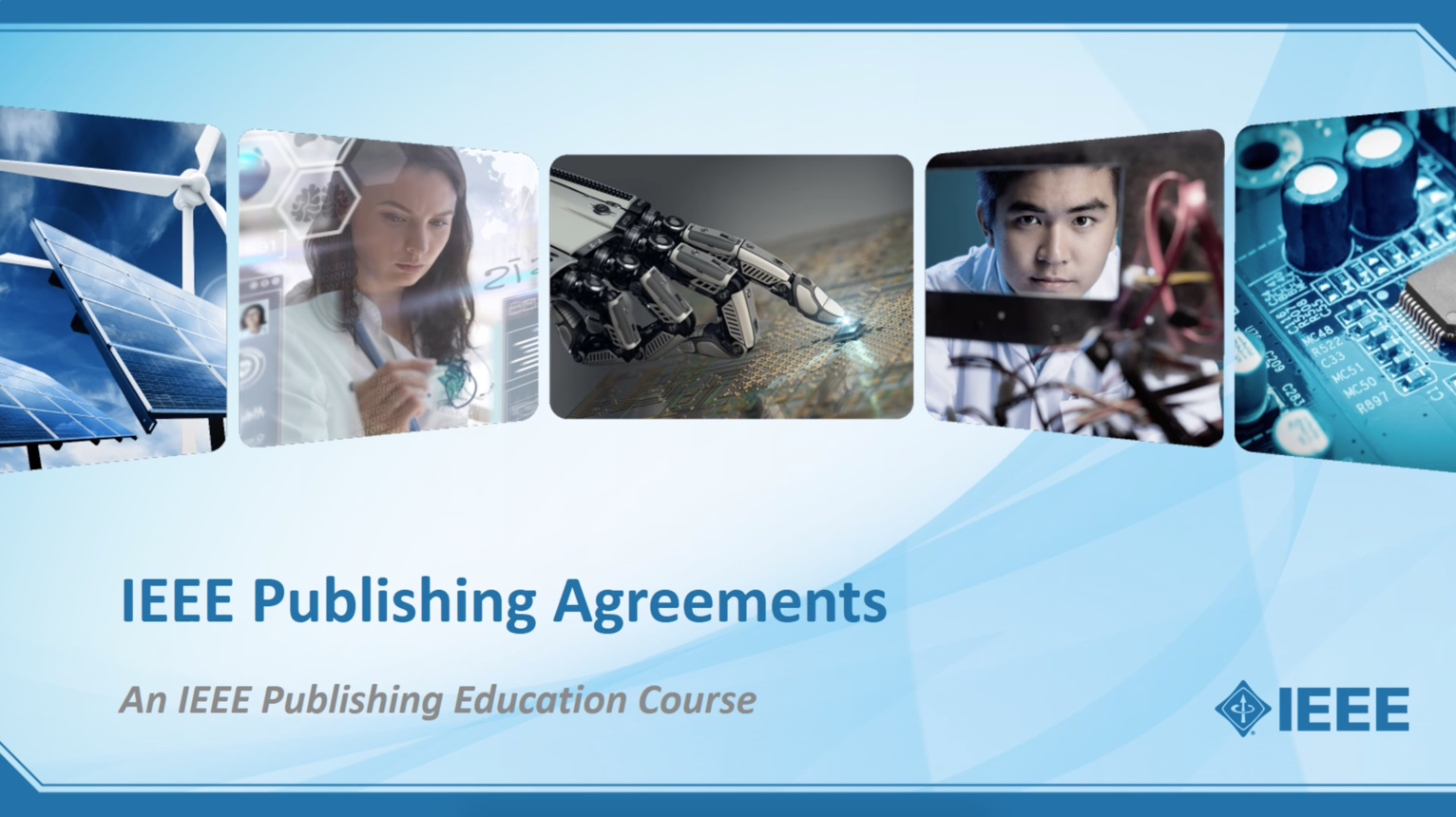 IEEE Publishing Agreements