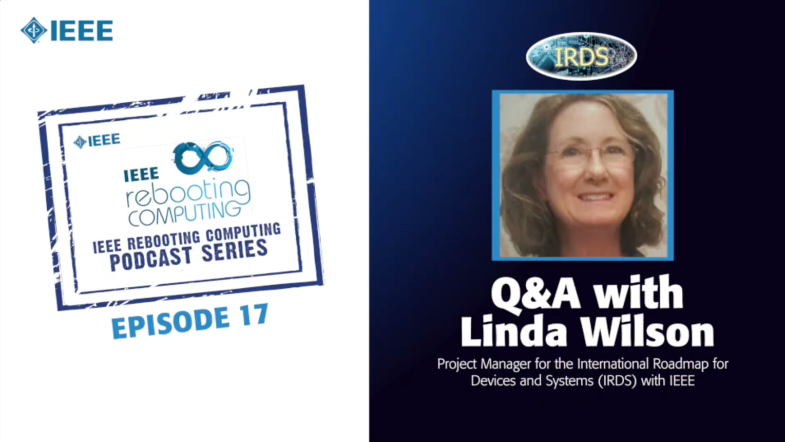 Q&A with Linda Wilson: IEEE Rebooting Computing Podcast, Episode 17