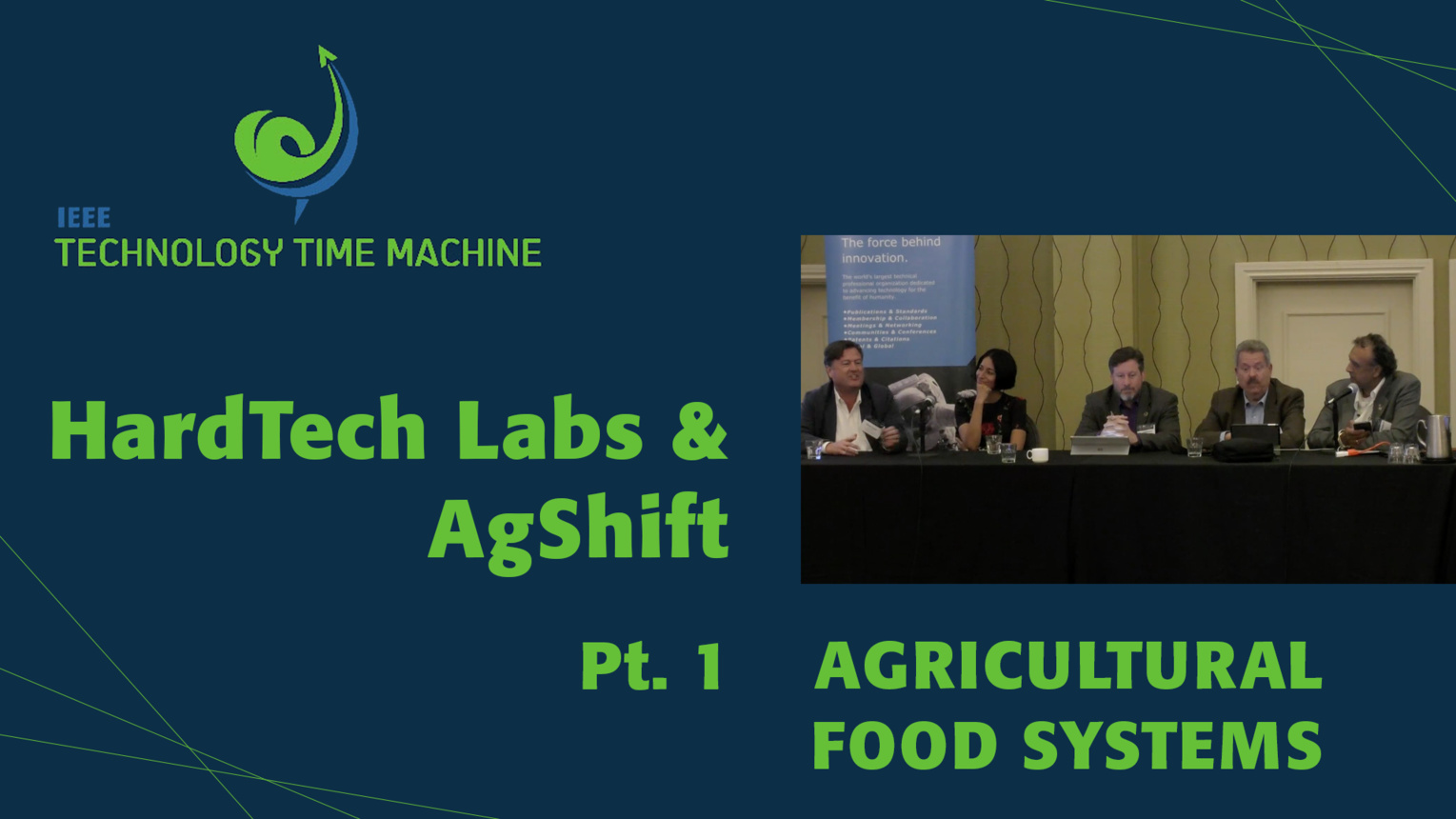Part 1: Derek Footer and Miku Jah - Agricultural Food Systems Panel - TTM 2018