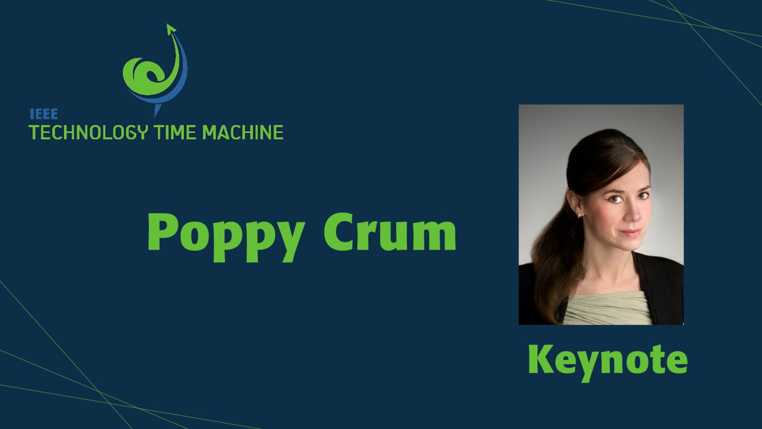 Keynote: Poppy Crum - TTM 2018
