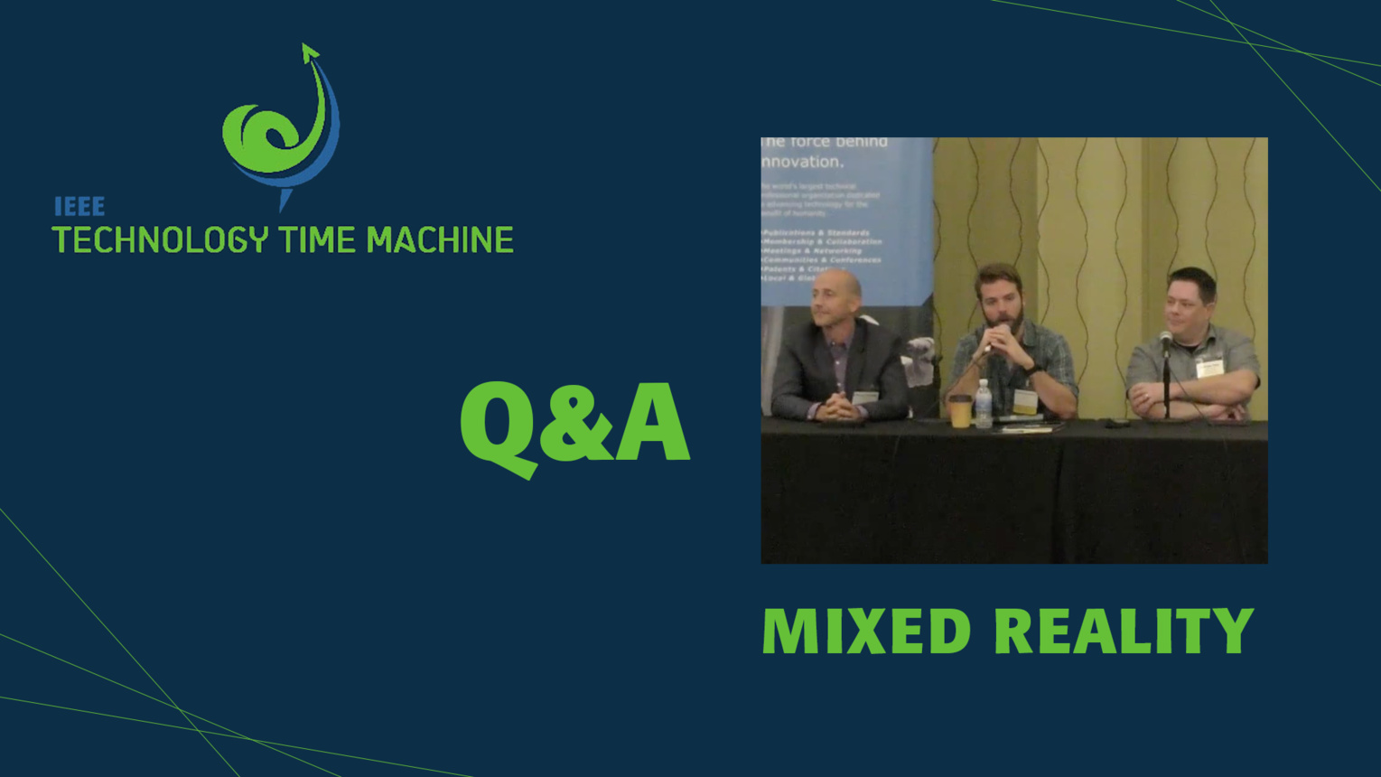 Q&A: Mixed Reality Panel - TTM 2018