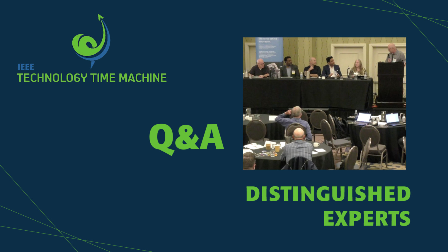 Q&A: Distinguished Experts Panel - TTM 2018