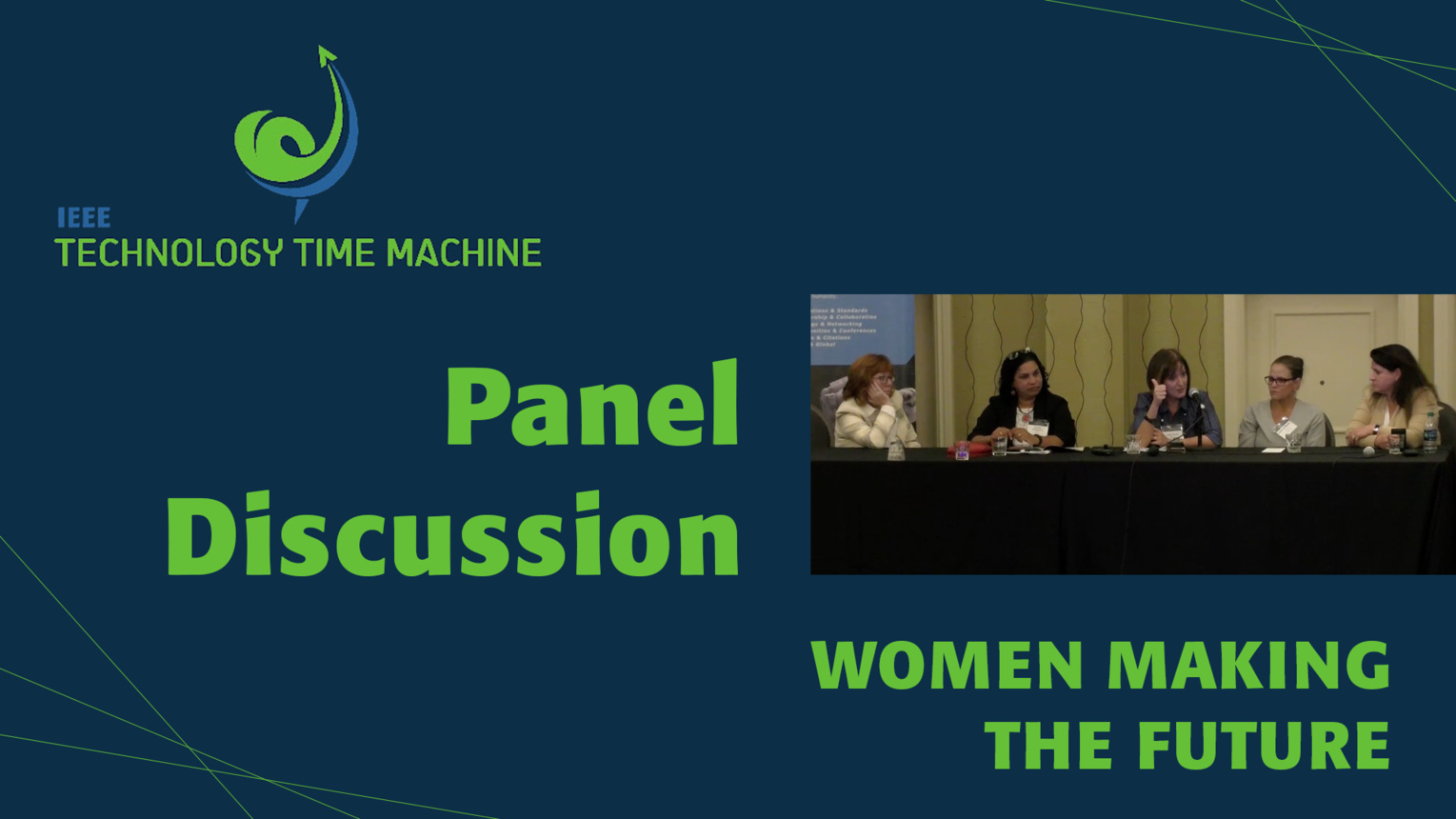 Women Making the Future Panel - TTM 2018