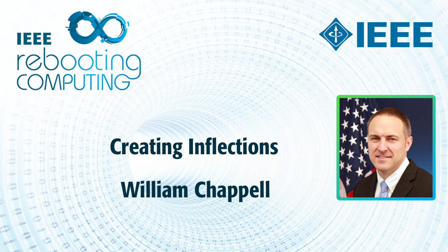 Creating Inflections: An ICRC talk featuring William Chappell