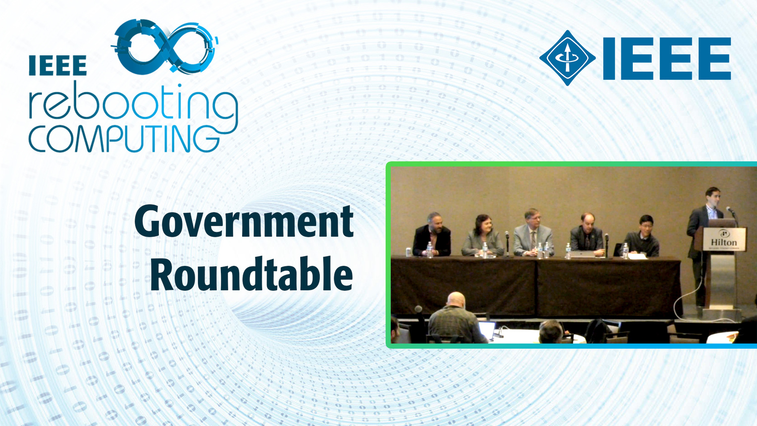 Government Roundtable - ICRC 2018