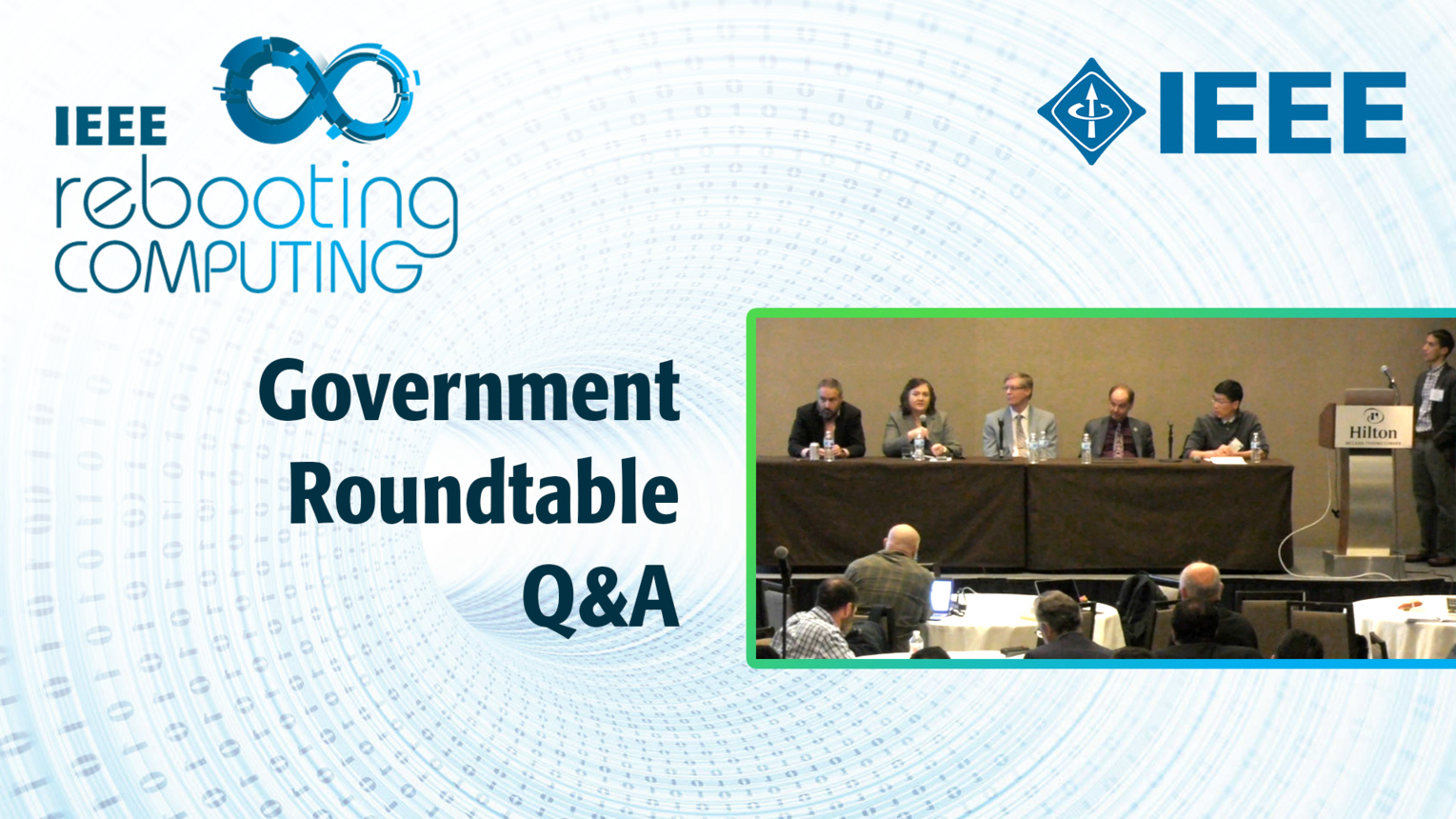 Q&A: Government Roundtable - ICRC 2018
