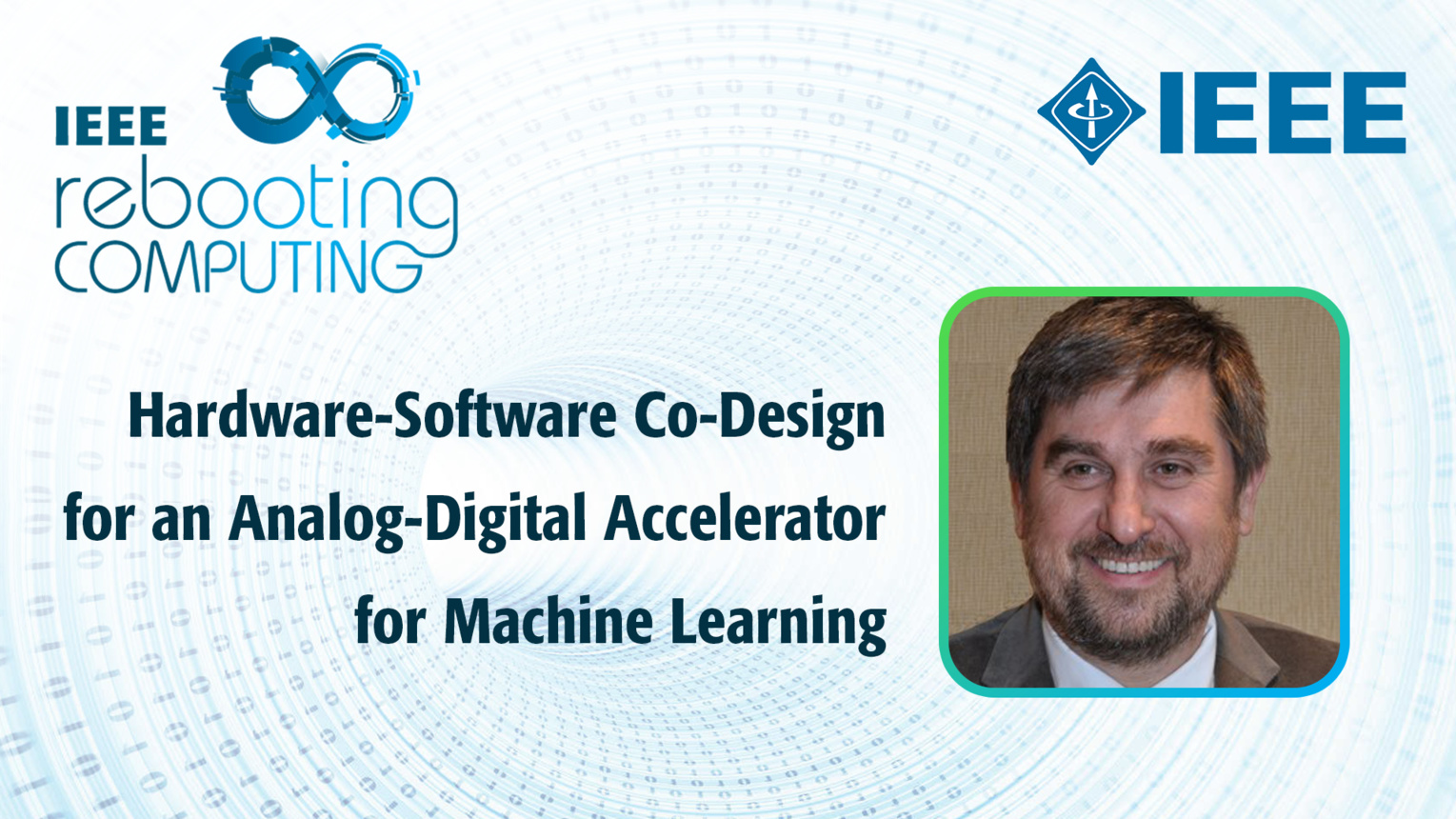 Hardware-Software Co-Design for an Analog-Digital Accelerator for Machine Learning - Dejan Milojicic - ICRC 2018