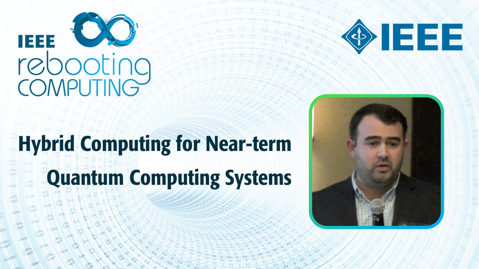 Hybrid Computing for Near-term Quantum Computing Systems - Alex McCaskey - ICRC 2018