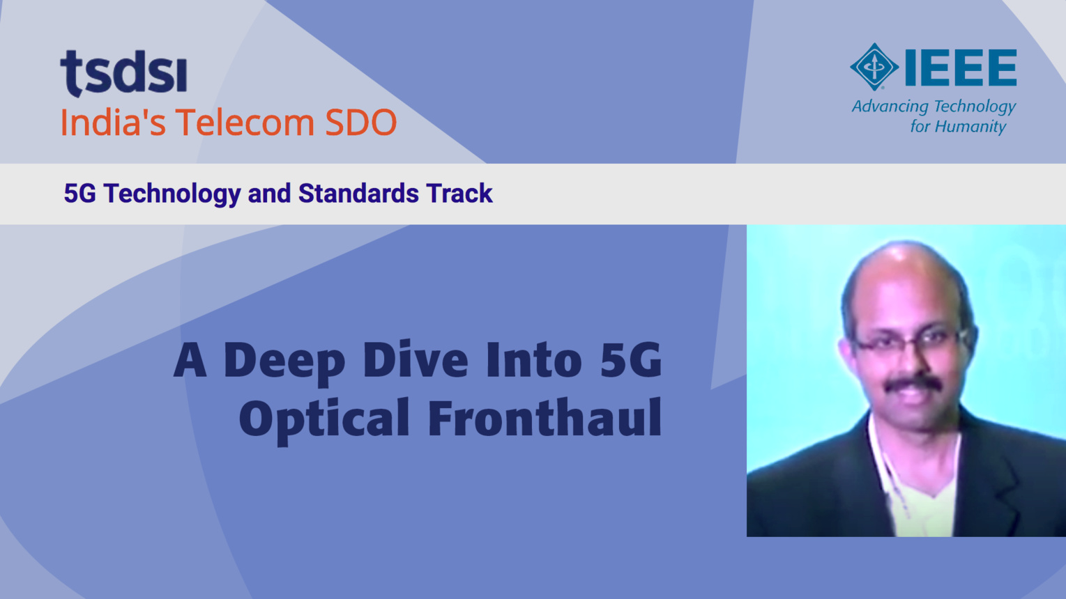 A Deep Dive Into 5G Optical Fronthaul - Jishnu Aravindakshan - India Mobile Congress, 2018