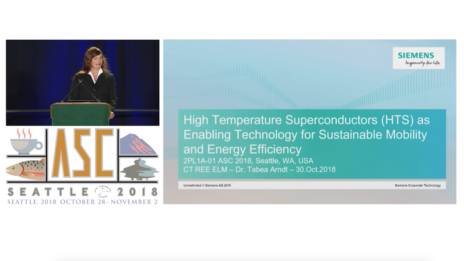 High Temperature Superconductors (HTS) as Enabling Technology for Sustainable Mobility and Energy Efficiency - Applied Superconductivity Conference 2018