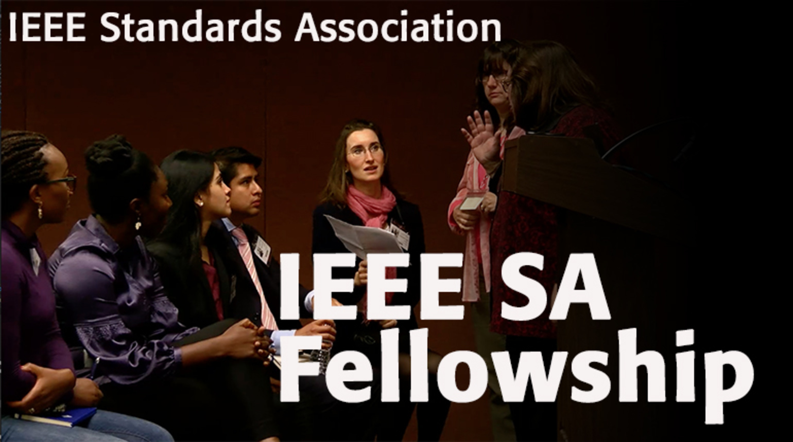 Insight Through Engagement: IEEE Standards Association Fellowship Program
