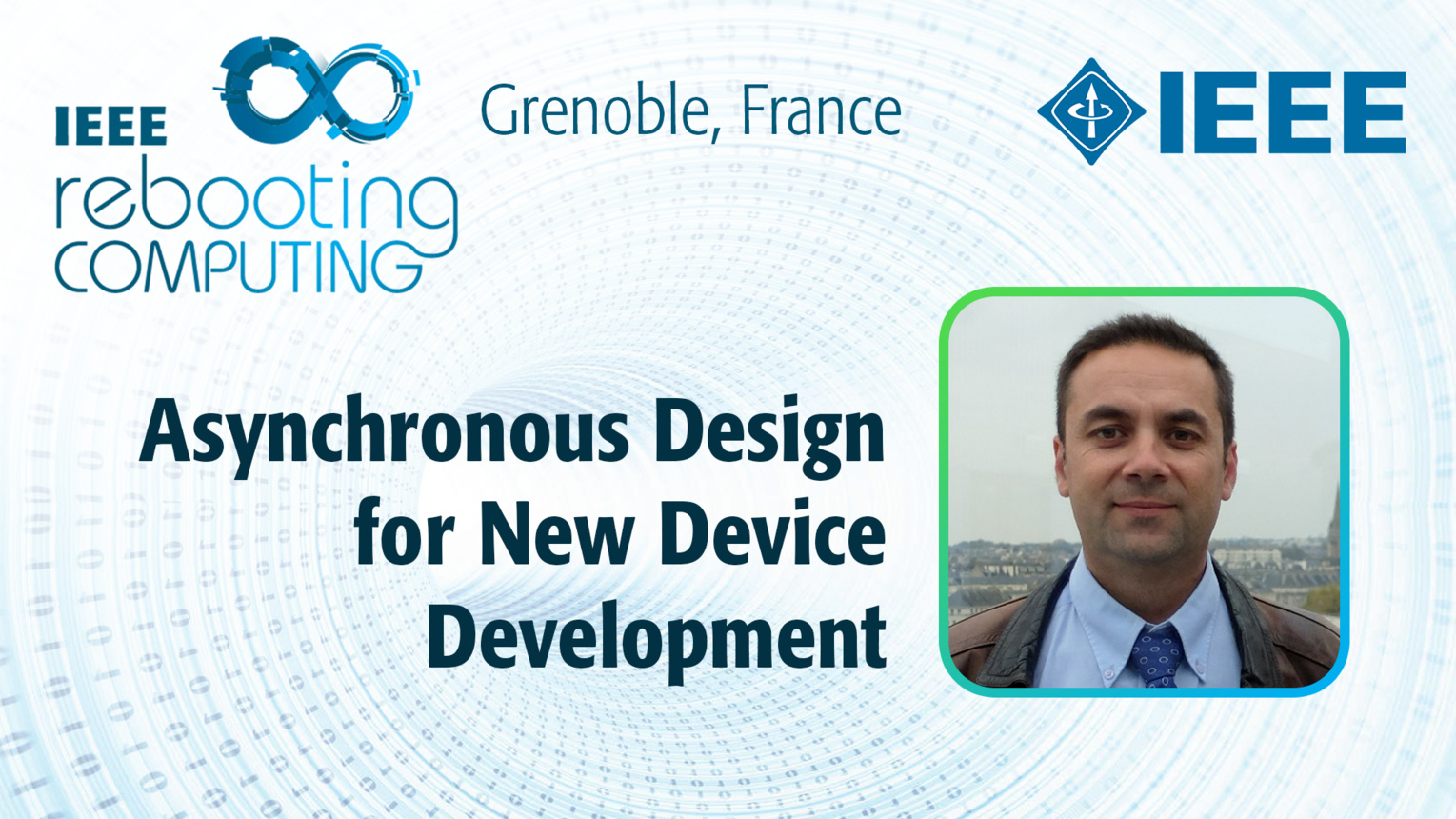 Asynchronous Design for New Device Development - Laurent Fesquet at INC 2019