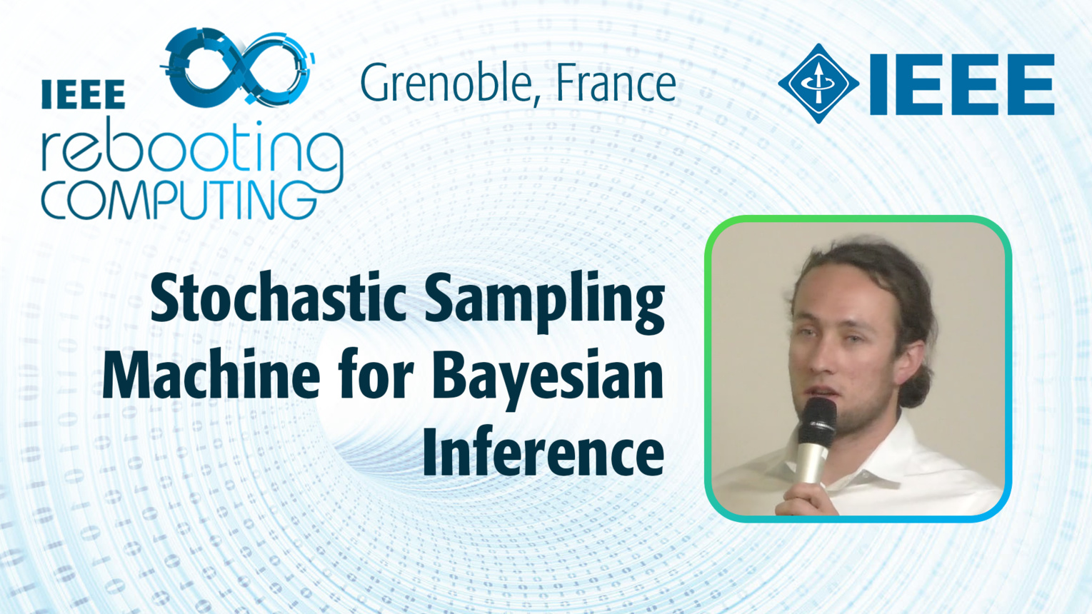 Stochastic Sampling Machine for Bayesian Inference - Raphael Frisch at INC 2019