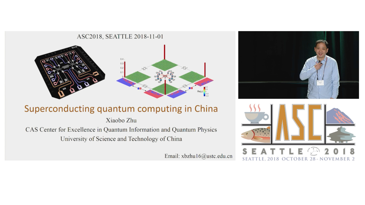 Superconducting Quantum Computing in China - Applied Superconductivity Conference 2018