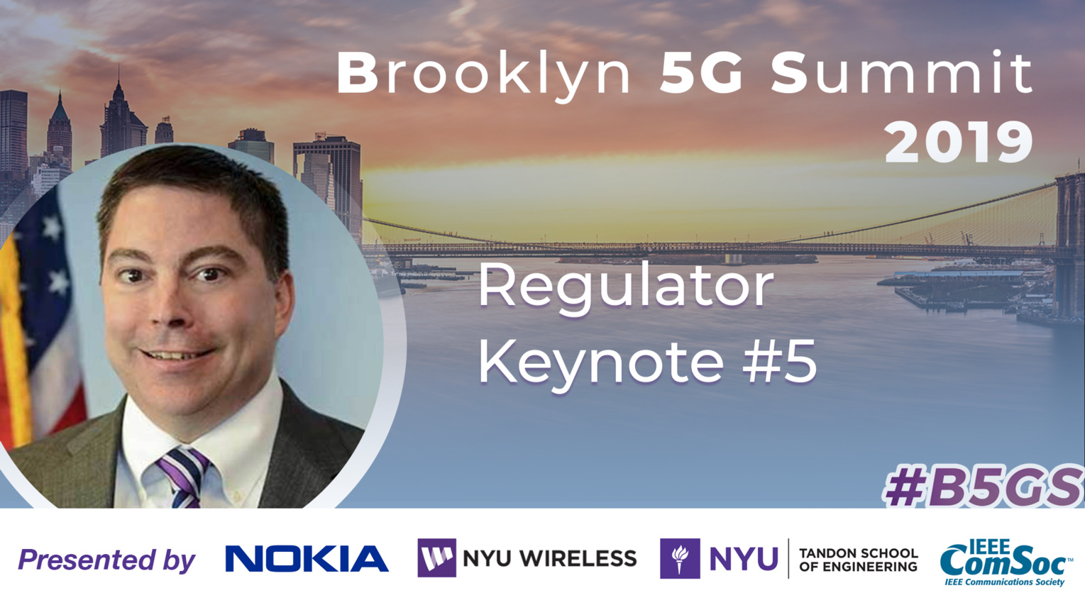 Regulator Keynote: Michael O'Rielly - B5GS 2019