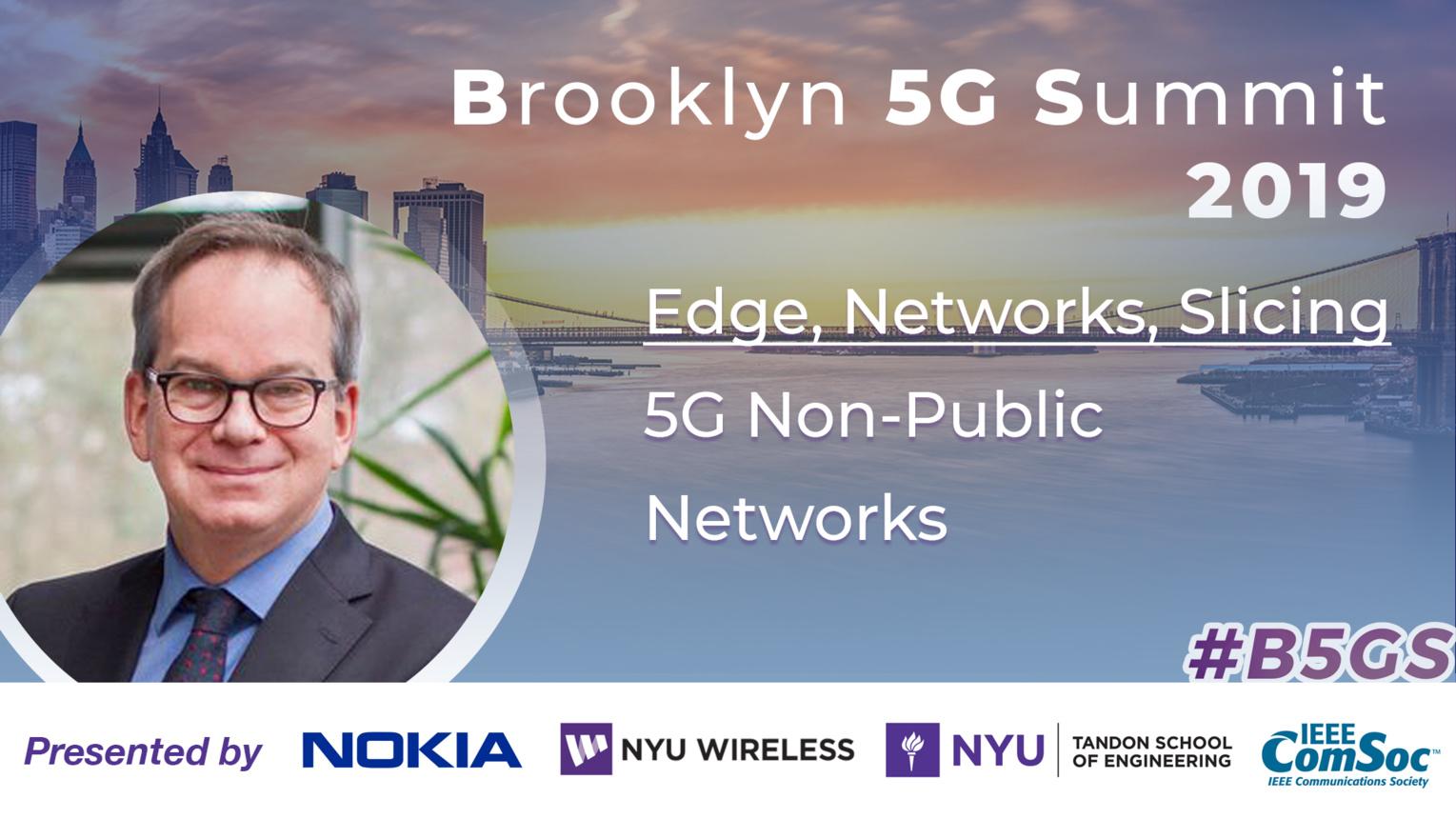 5G Non-Public Networks: Edge, Networks & Slicing - Hans Schotten - B5GS 2019