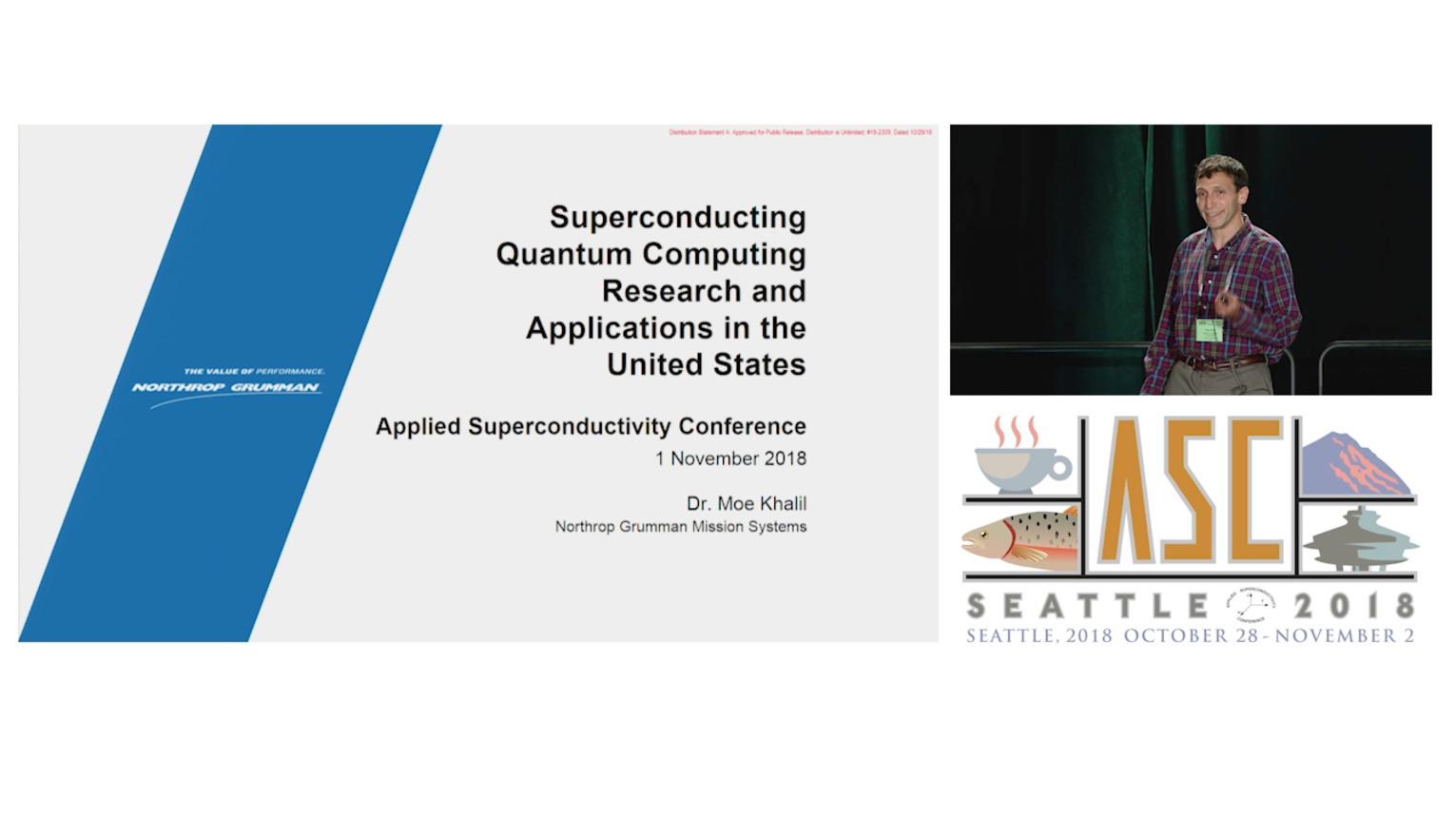 Superconducting quantum computing research and applications in the United States - Applied Superconductivity Conference 2018