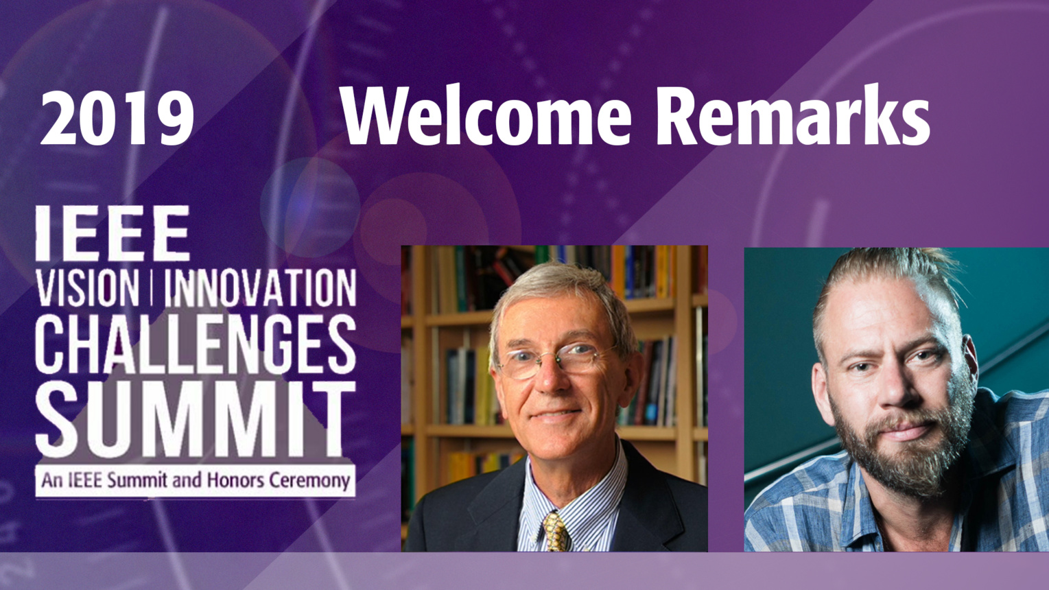 Welcome Remarks - Jose Moura & Mike North - VIC Summit 2019