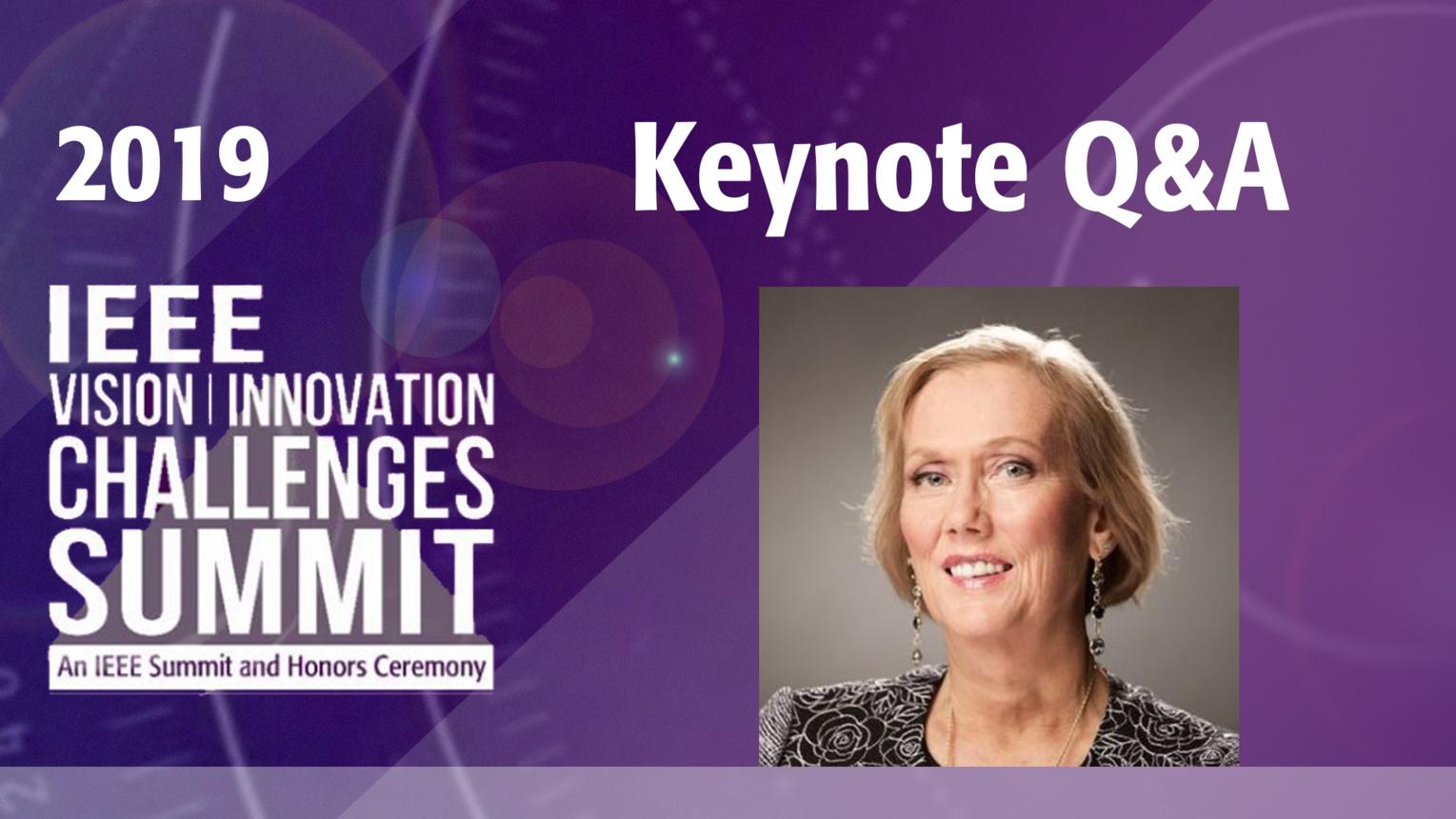 Keynote Q&A: Telle Whitney - VIC Summit 2019