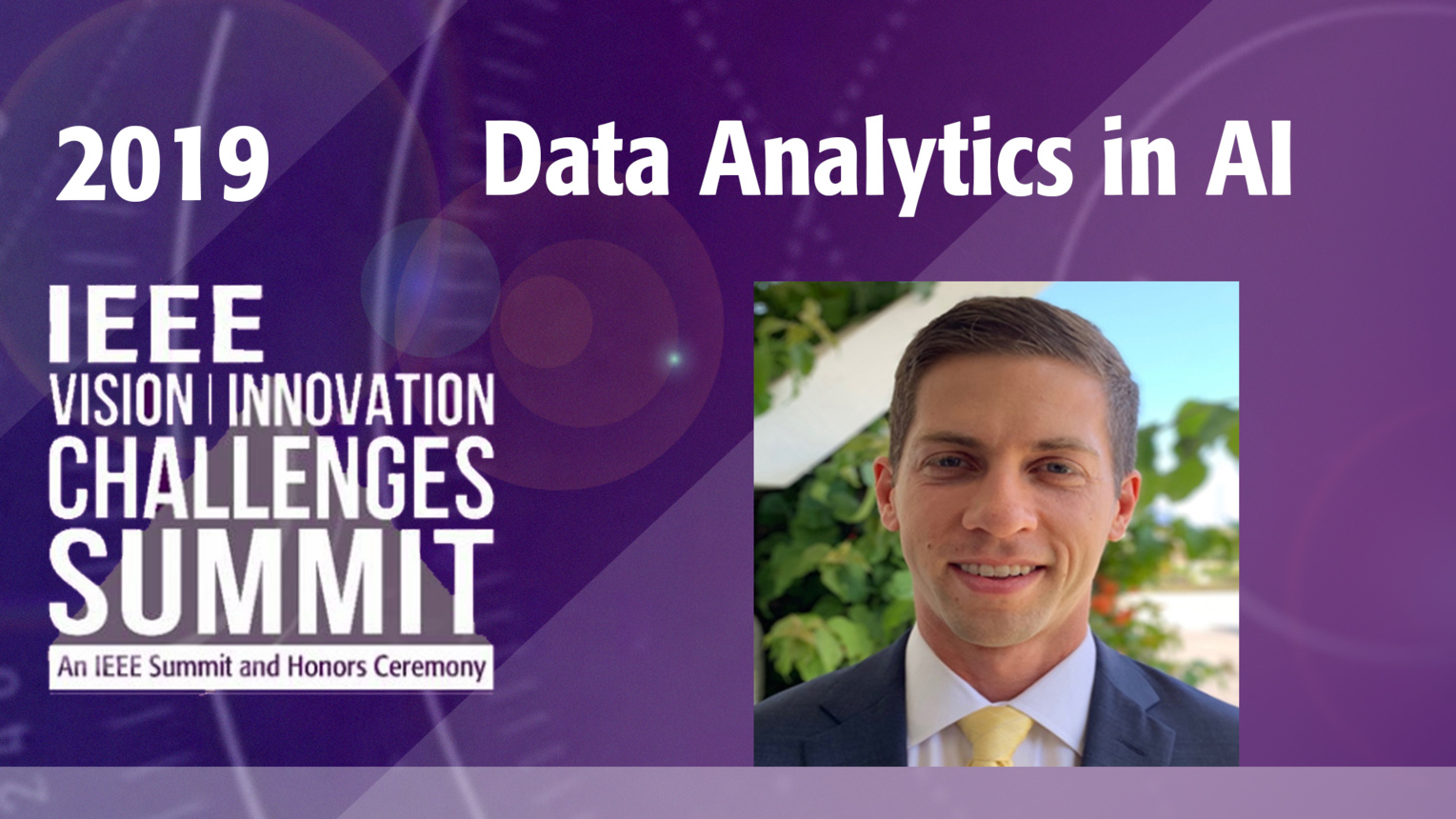 The Role of Data Analytics in AI - Nick Saunders - VIC Summit 2019