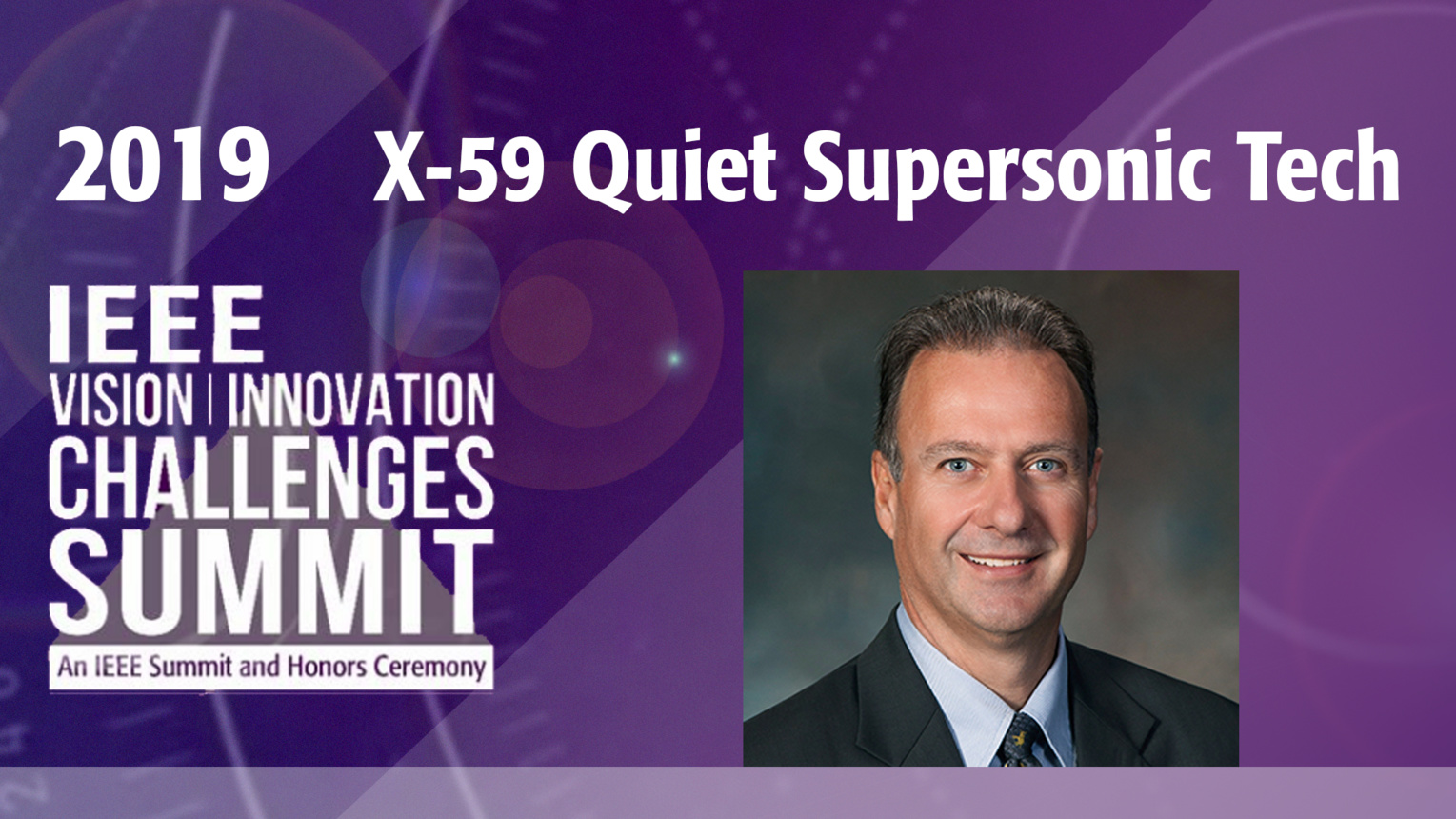 X-59 Quiet Supersonic Technology X-Plane - Peter Iosifidis - VIC Summit 2019