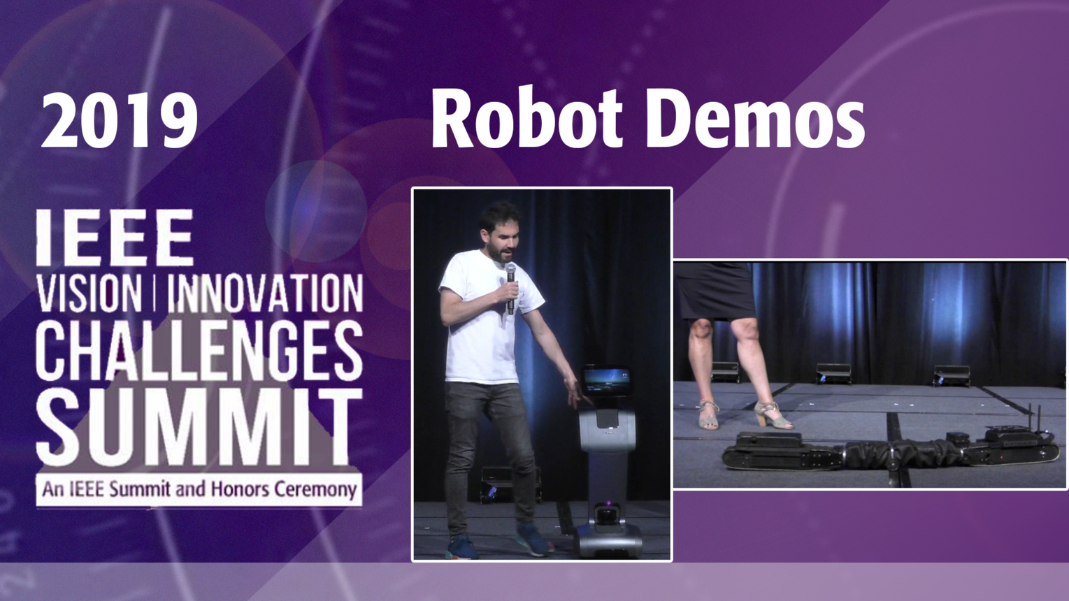Closing Remarks and Robot Demos - VIC Summit 2019