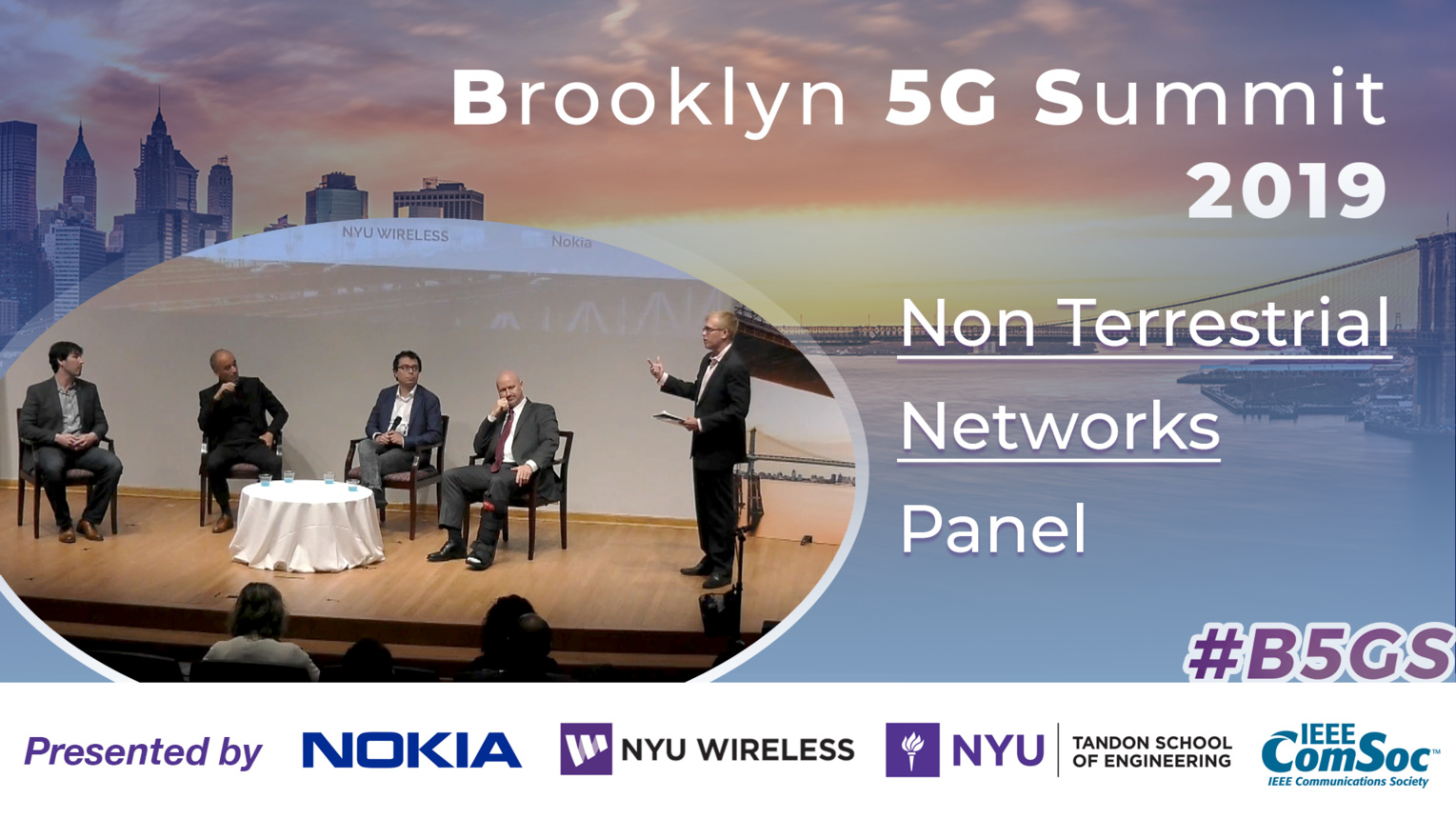 Panel: Non Terrestrial Networks - B5GS 2019