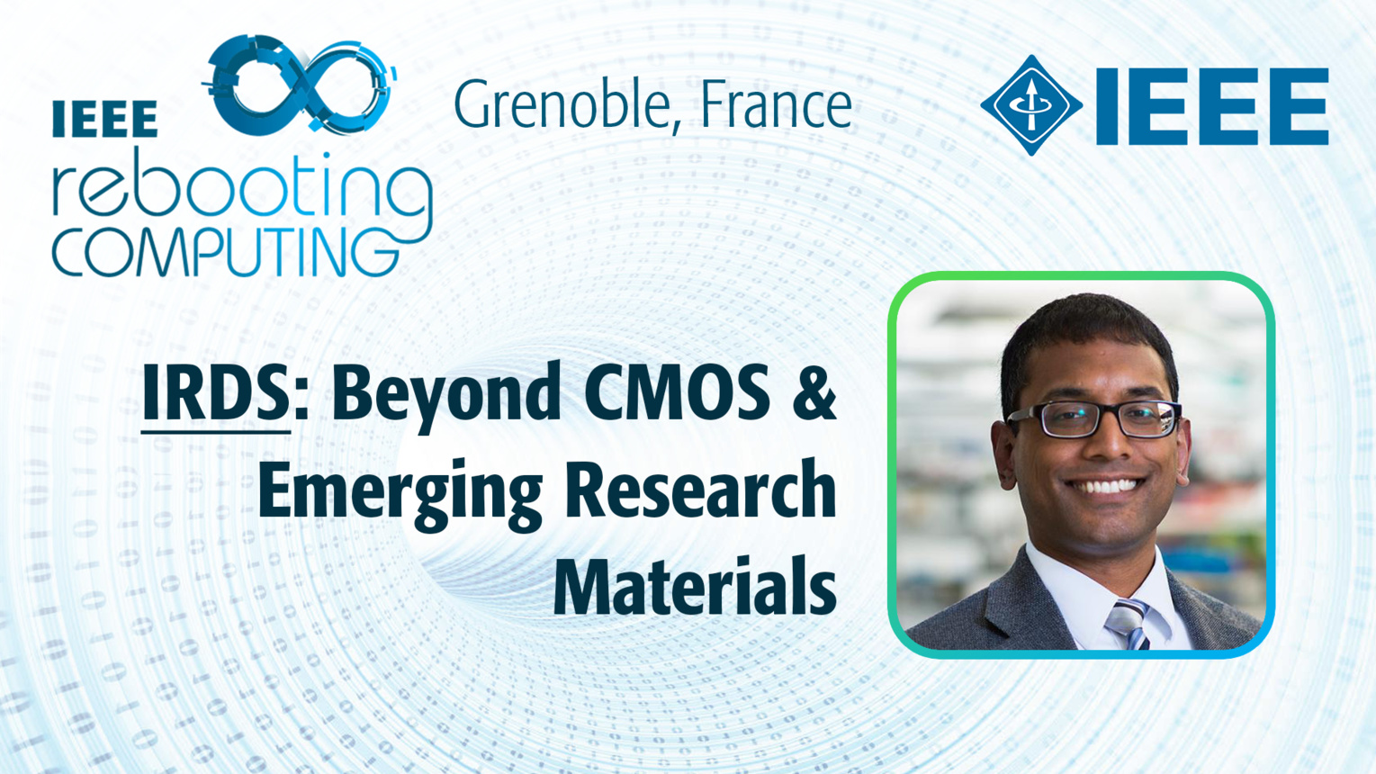 IRDS: Beyond CMOS & Emerging Research Materials - Shamik Das at INC 2019