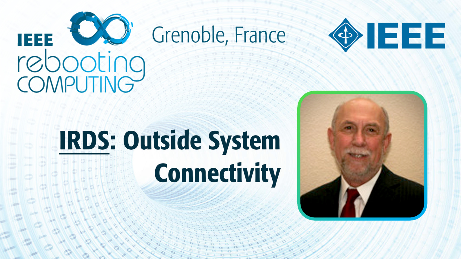 IRDS: Outside System Connectivity - Michael Garner at INC 2019