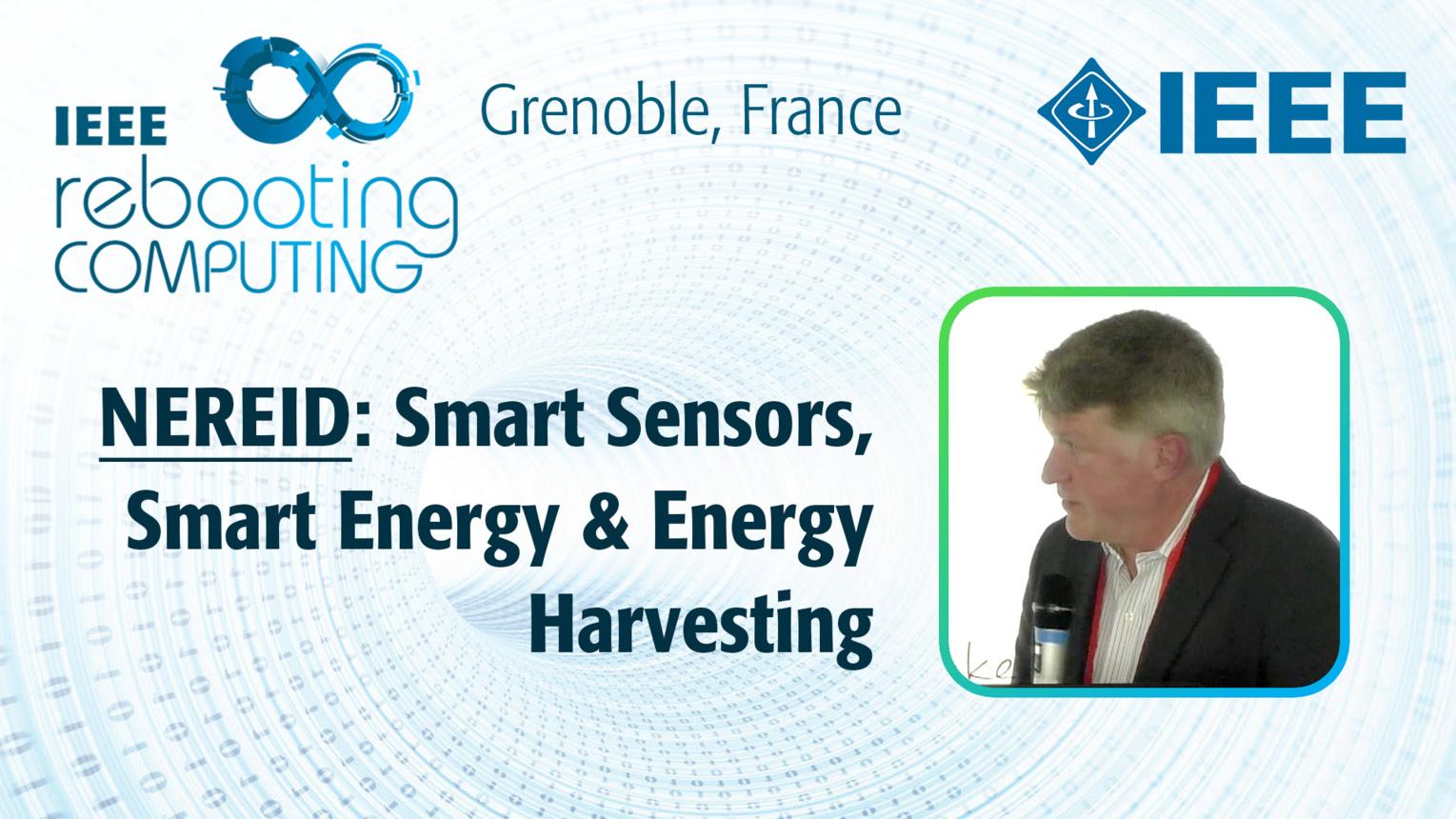 NEREID: Smart Sensors, Smart Energy & Energy Harvesting - David Holden at INC 2019