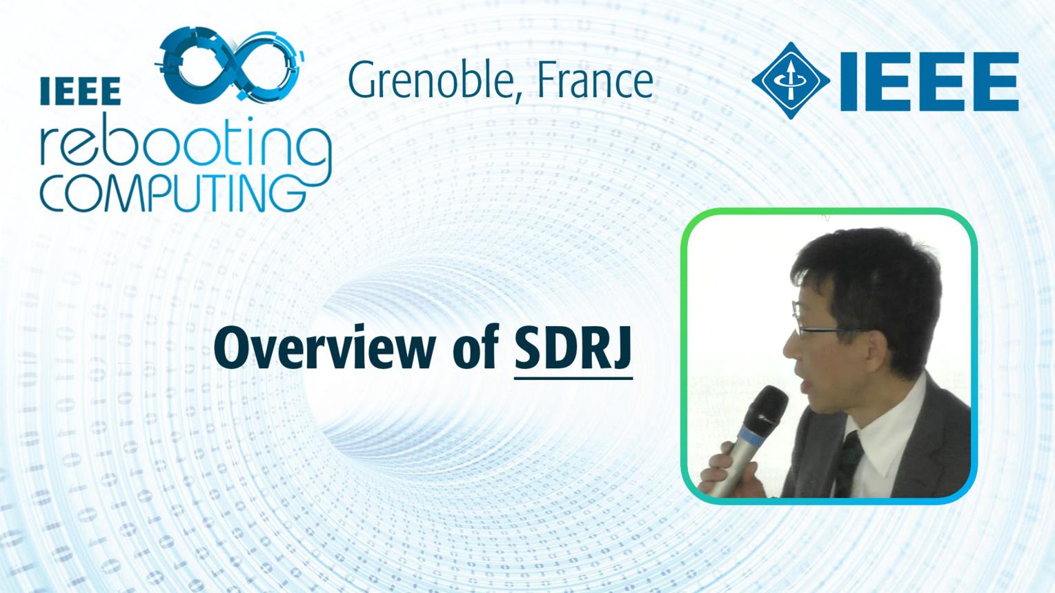 Overview of SDRJ - Yoshihiro Hayashi at INC 2019