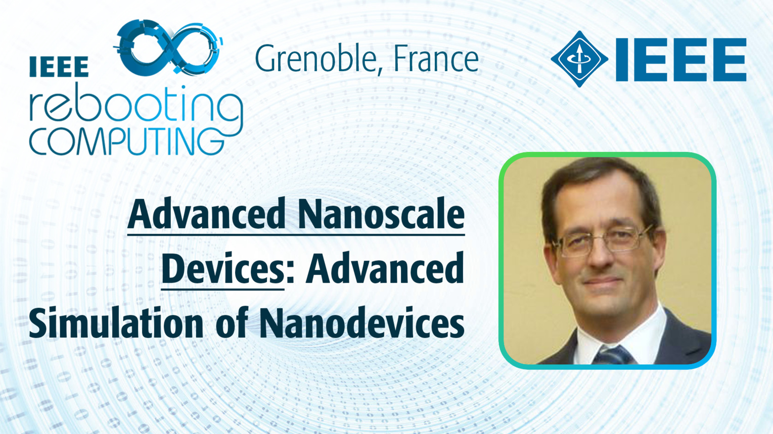 Advanced Simulation of Nanodevices - Luca Selmi at INC 2019