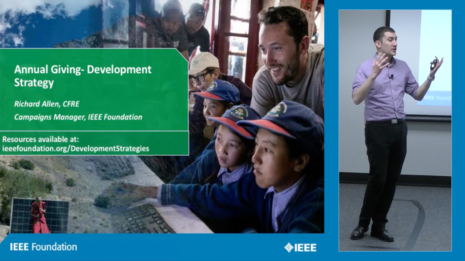 Annual Giving Development Strategy - IEEE Foundation Development Education Strategies Series, Part 1 of 4