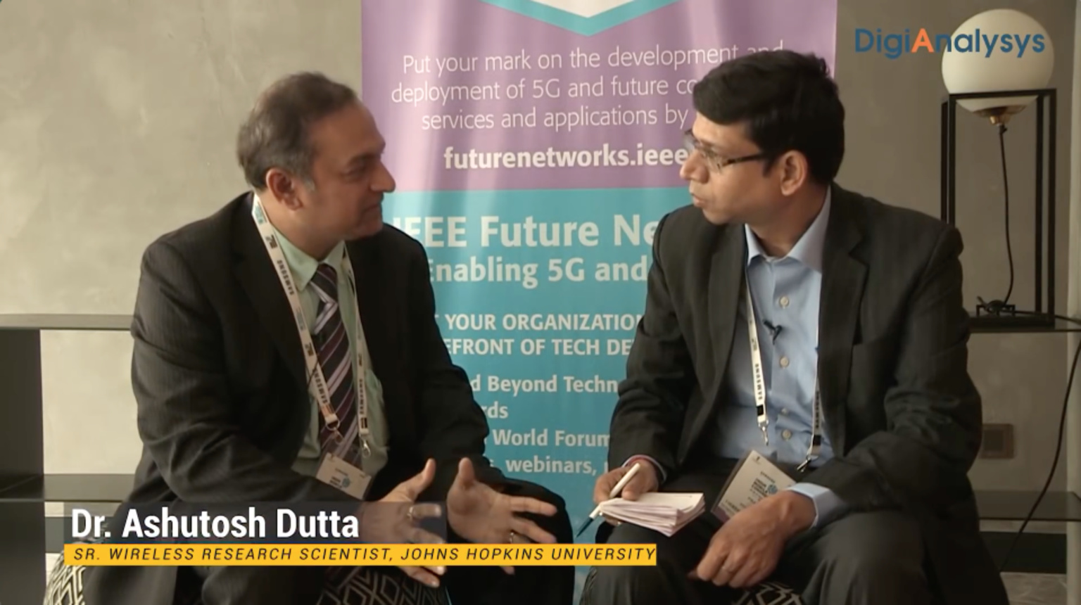 Ashutosh Dutta interviewed at India Mobile Congress 2018
