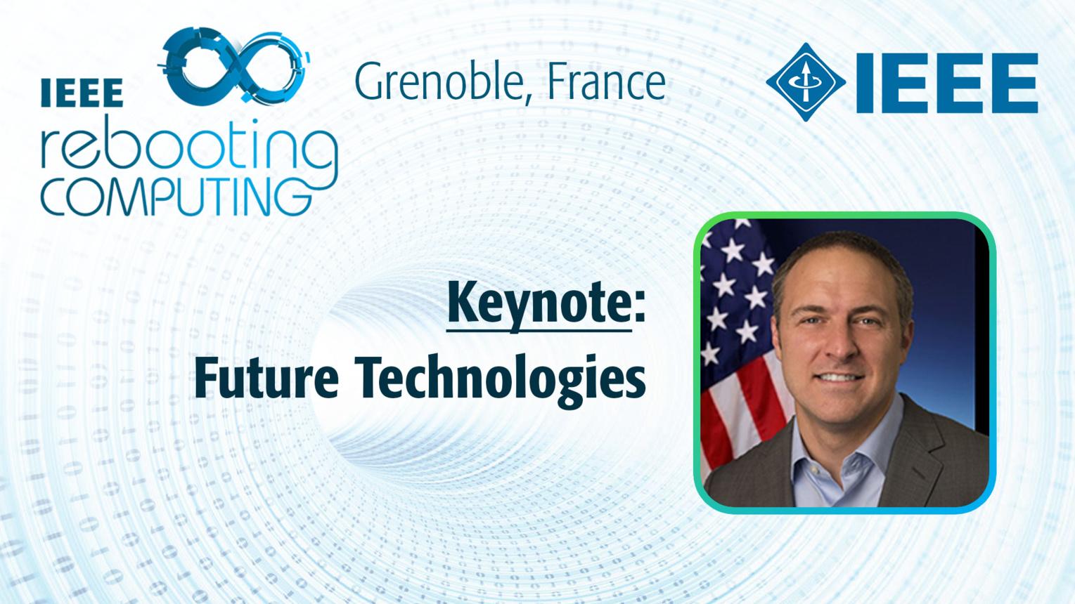 Keynote: Future Technologies - Bill Chappell at INC 2019