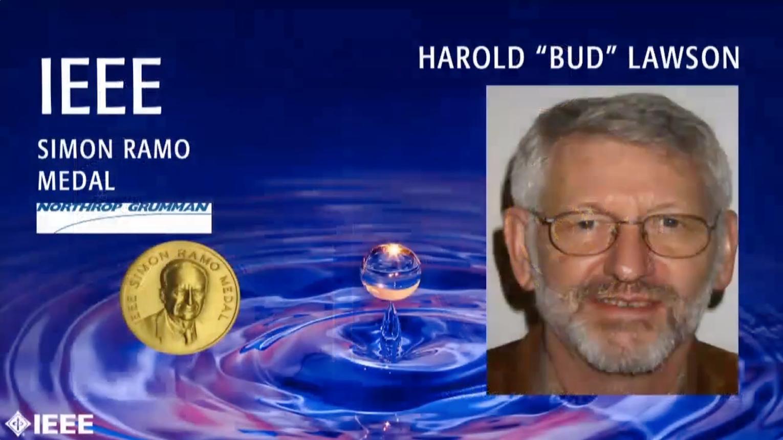 "Harold ""Bud"" Lawson - IEEE Simon Ramo Medal, 2019 IEEE Honors Ceremony"