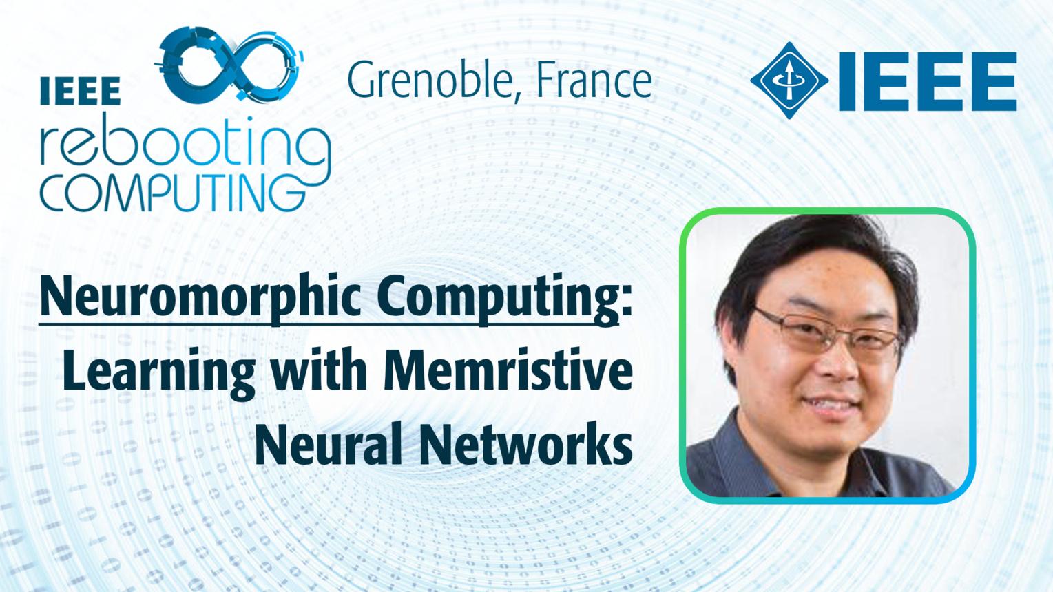 Learning with Memristive Neural Networks: Neuromorphic Computing - Joshua Yang at INC 2019