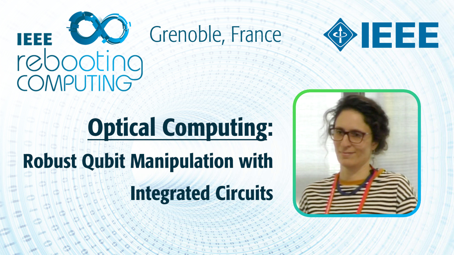 Robust Qubit Manipulation with Integrated Circuits: Optical Computing - Pérola Milman at INC 2019