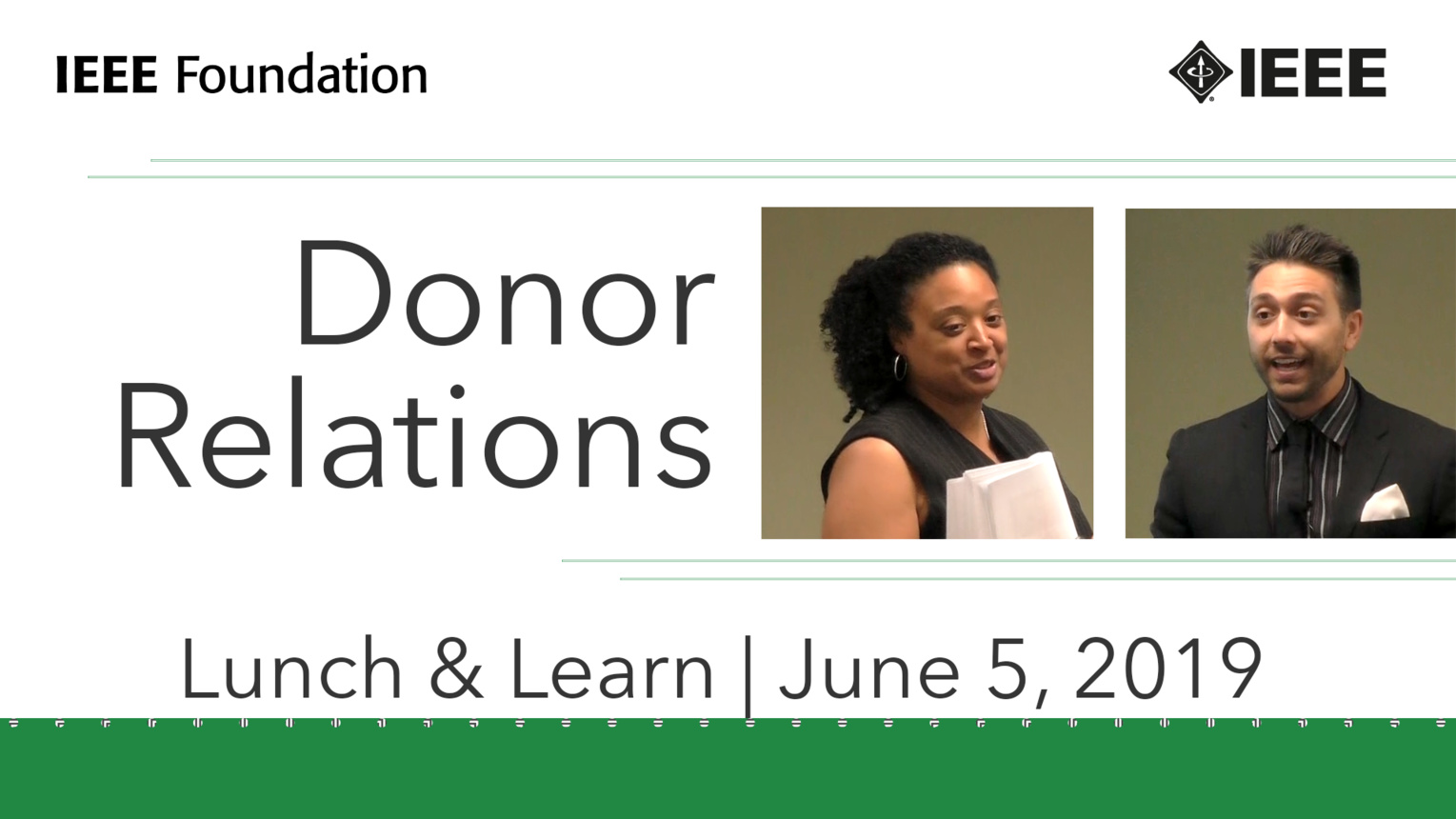 Donor Relations - IEEE Foundation Development Education Strategies Series, Part 2 of 4