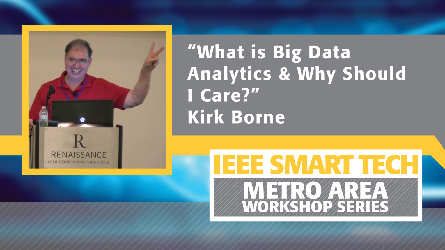 """What is Big Data Analytics and Why Should I Care?"" - Big Data Analytics Tutorial Part 1"