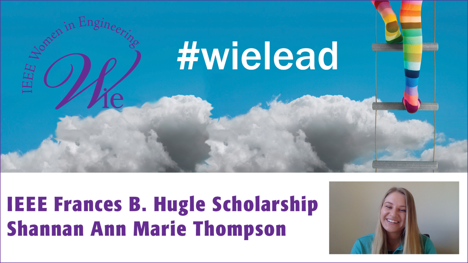 Shannan Thompson - 2018 IEEE Frances B. Hugle Scholarship winner