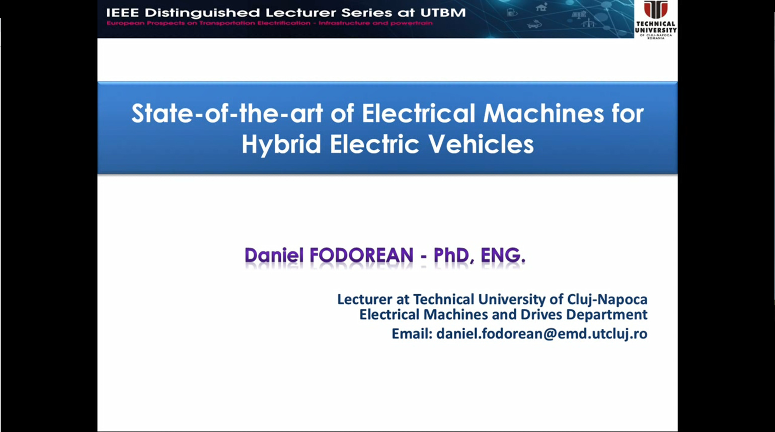State-of-the-art Electrical Machines for Hybrid Electric Vehicles
