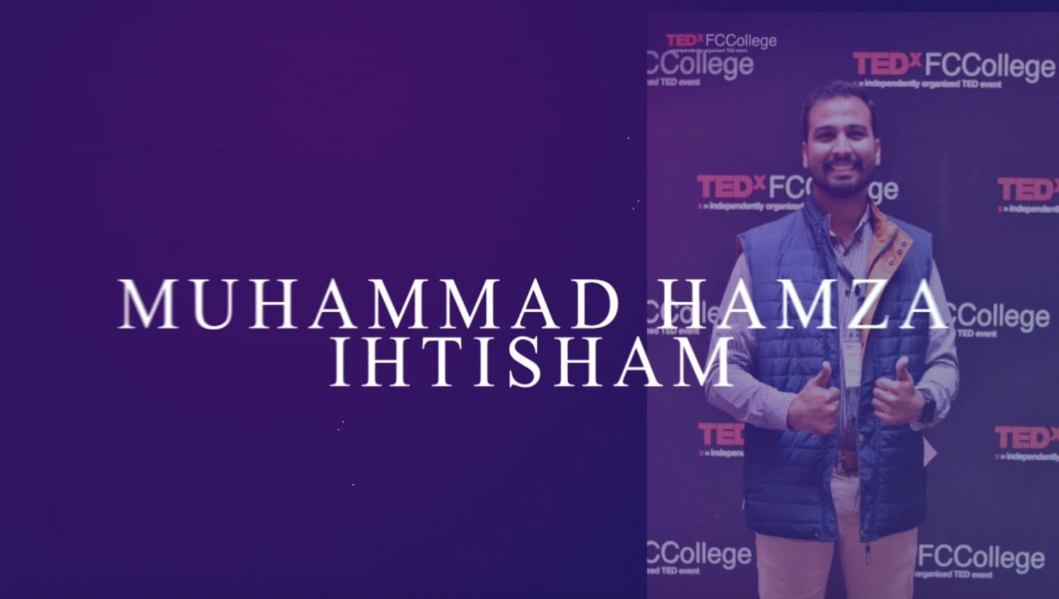 IEEE Student Journey | Muhammad Hamza | 2015 - 2019 | IEEE Lahore Section