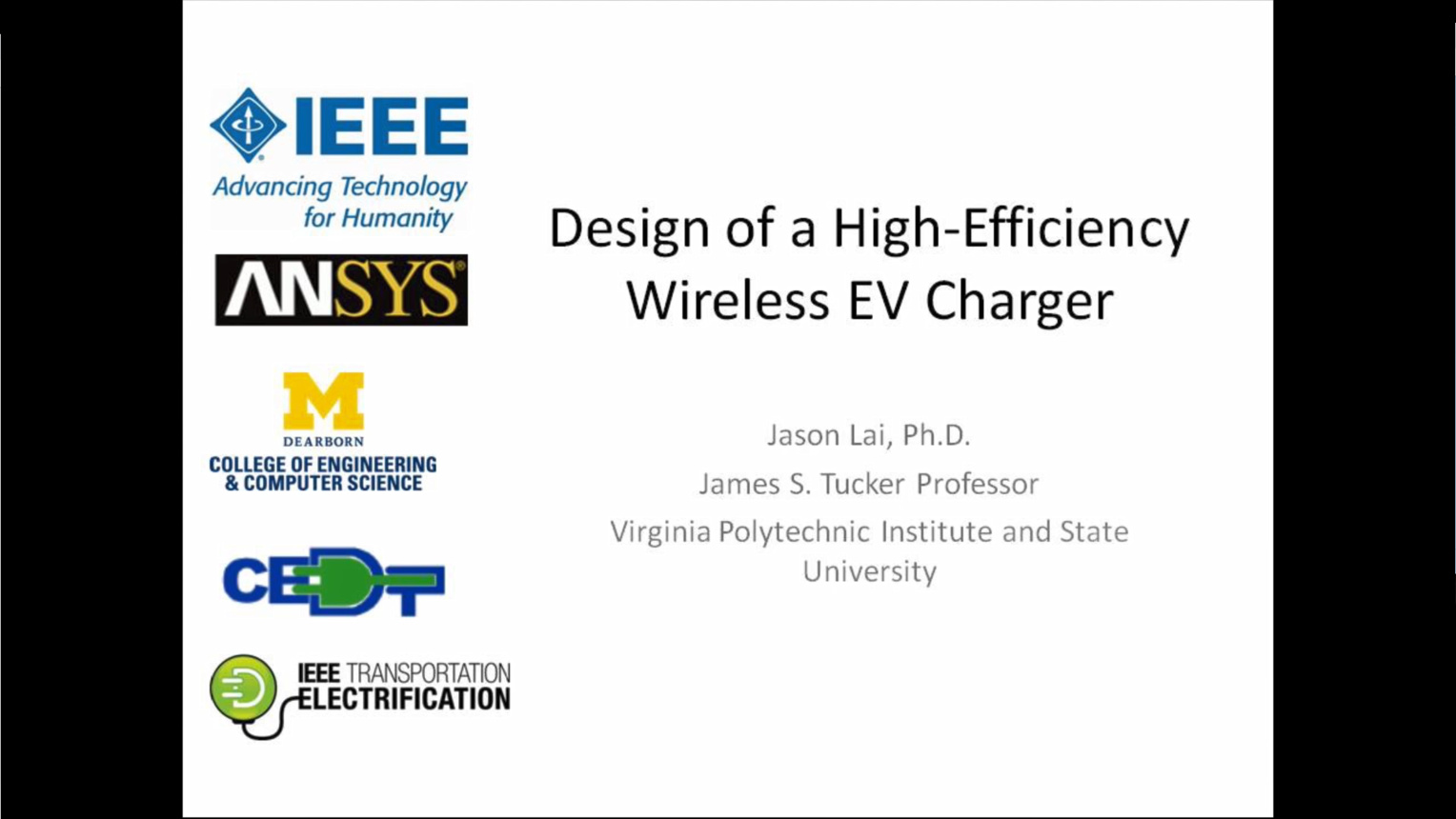 Design of a High-Efficiency Wireless EV Charger