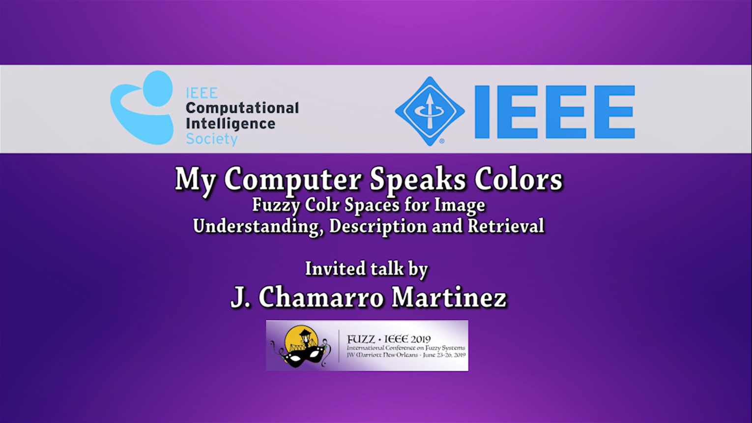 My Computer Speaks Colors! Fuzzy Color Spaces for Image Understanding, Description and Retrieval