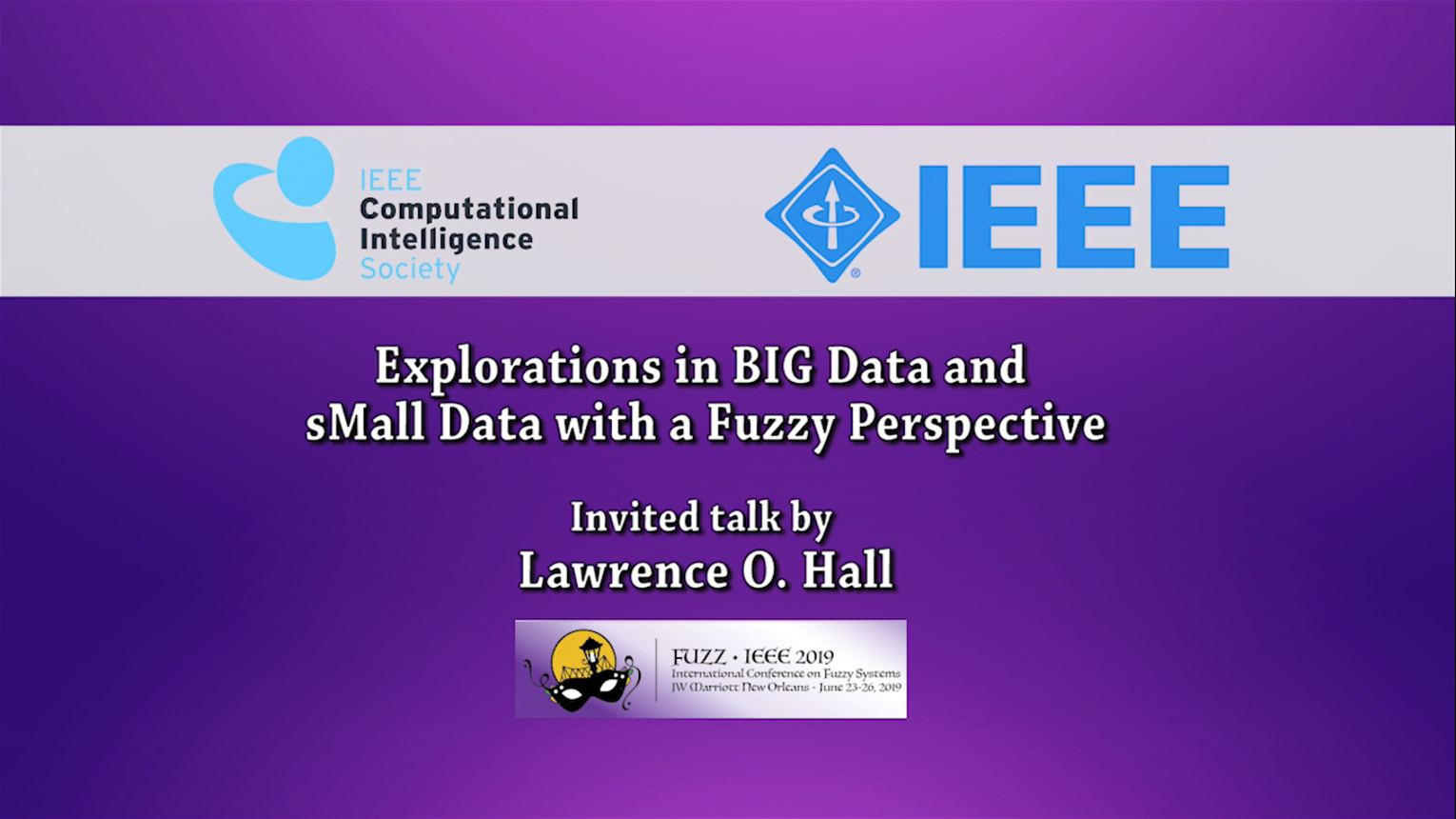 Explorations in BIG Data and sMall Data with a Fuzzy Perspective